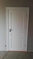 Drzwi Barański Malaga 200 P1-90 czarna klamka