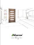 Pobierz katalog drzwi Voster 2016