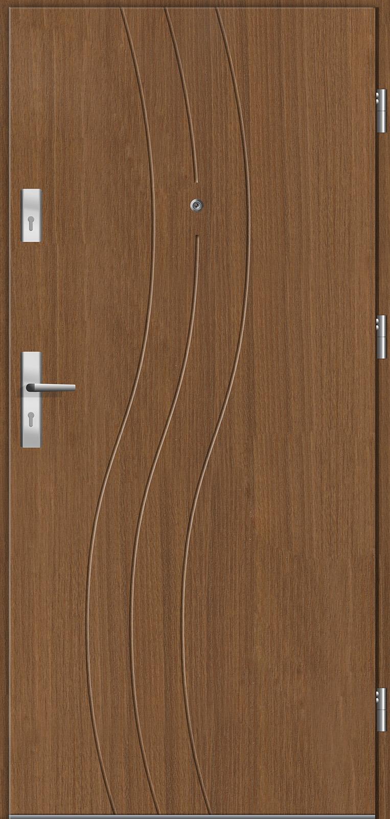 Drzwi wewnętrzne do mieszkań Otium 21 tuja