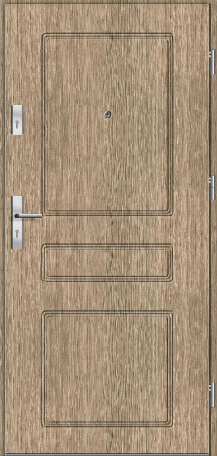 Drzwi wewnętrzne do mieszkań Otium 41 dąb