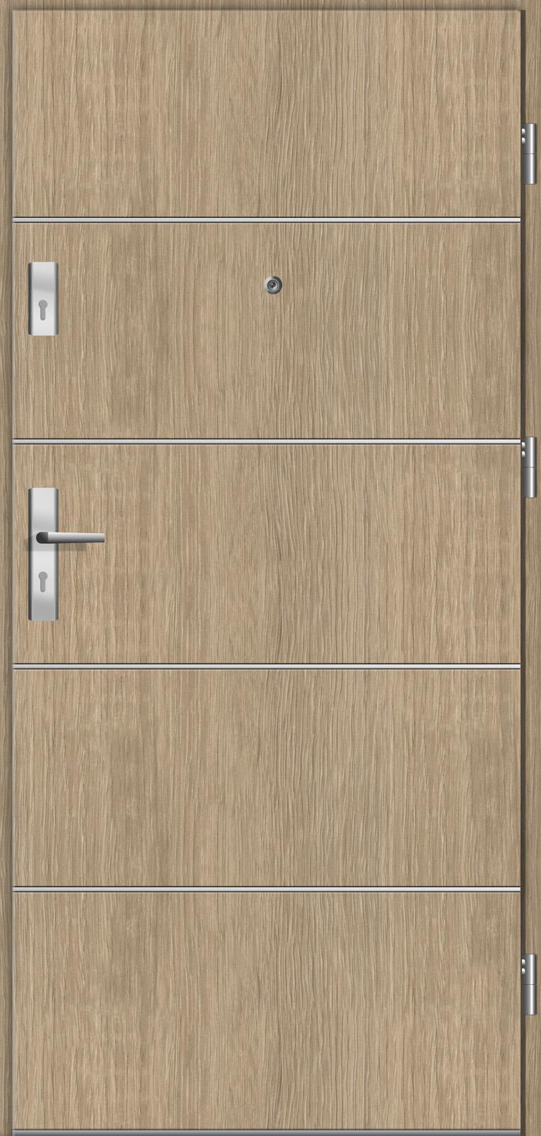 Drzwi wejściowe do mieszkań Otium 9 dąb