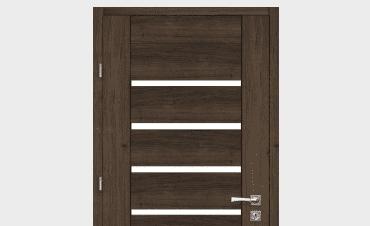Drzwi z przeszkleniem
