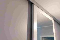 Drzwi z lusterm do sufitu