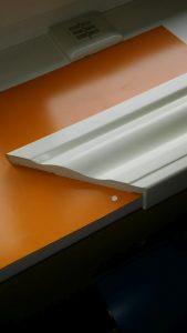 Opaska 100 mm frezowana - przekrój
