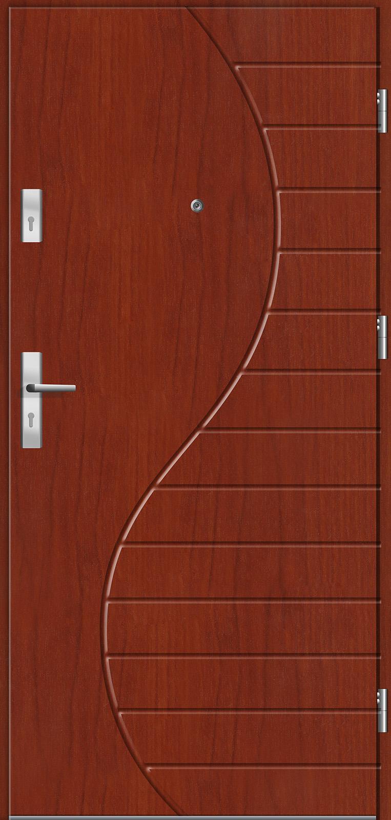 Drzwi wewnętrzne do mieszkań Otium 23 cedr