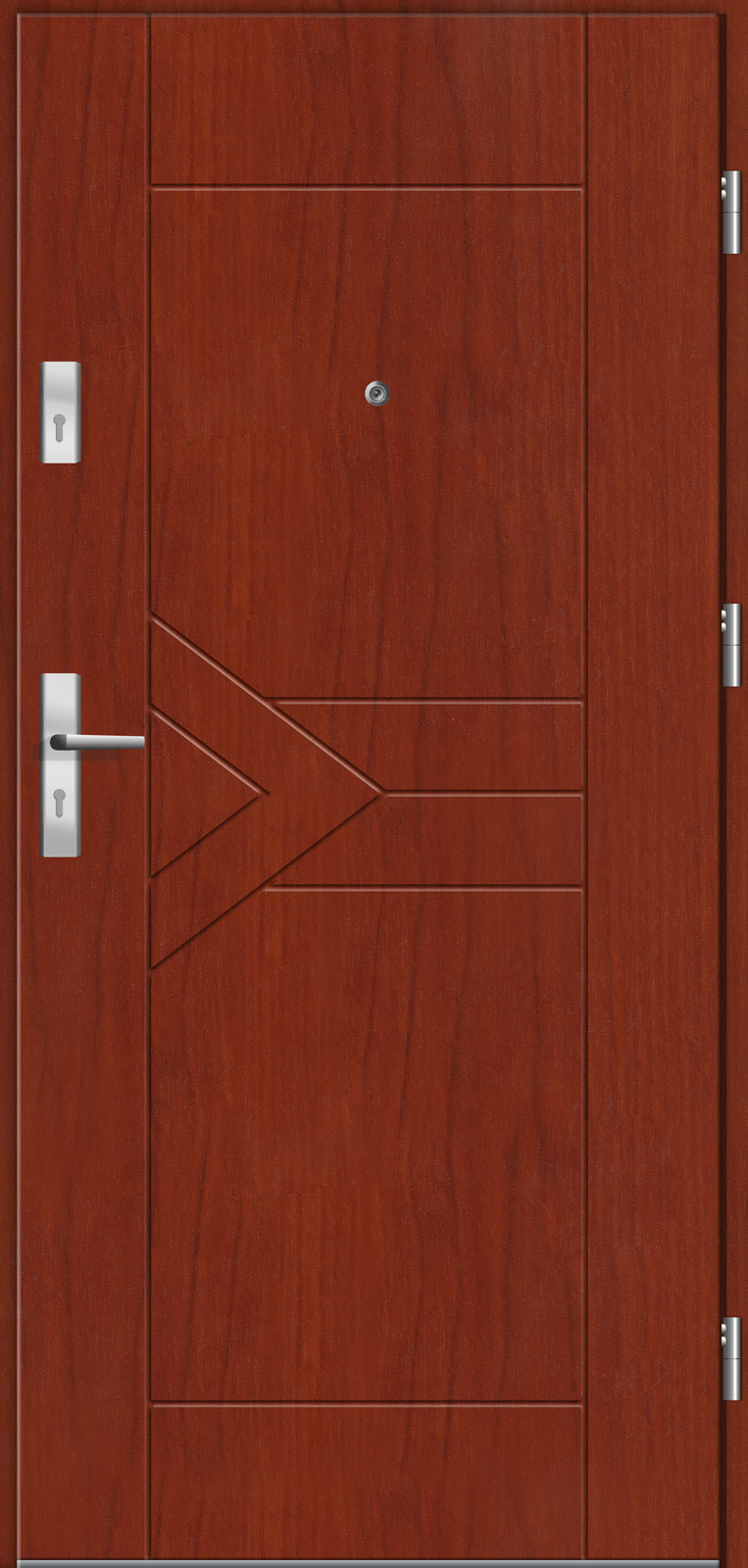 Drzwi wewnętrzne do mieszkań Otium 26 cedr