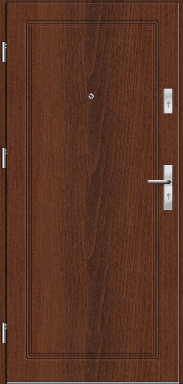 Drzwi wewnętrzne do mieszkań Otium 42 orzech lanzado