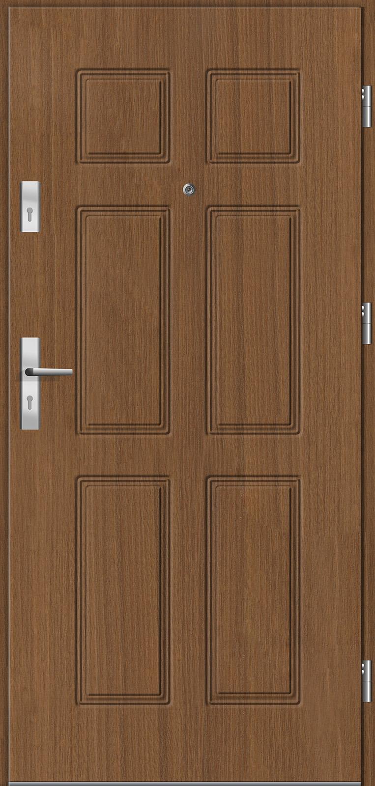 Drzwi wewnętrzne do mieszkań Otium 43 v2 tuja