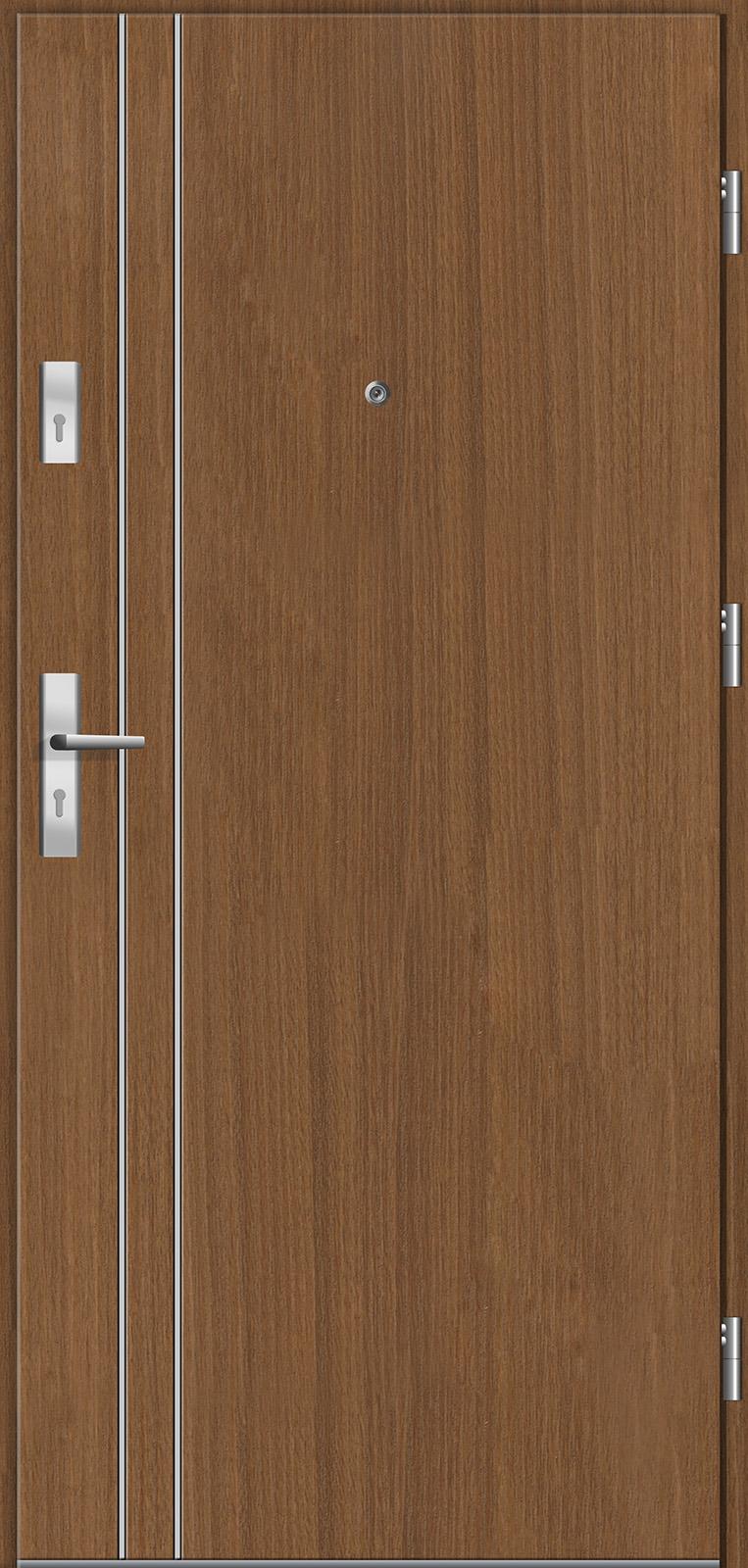 Drzwi wewnętrzne do mieszkań Otium 6 tuja