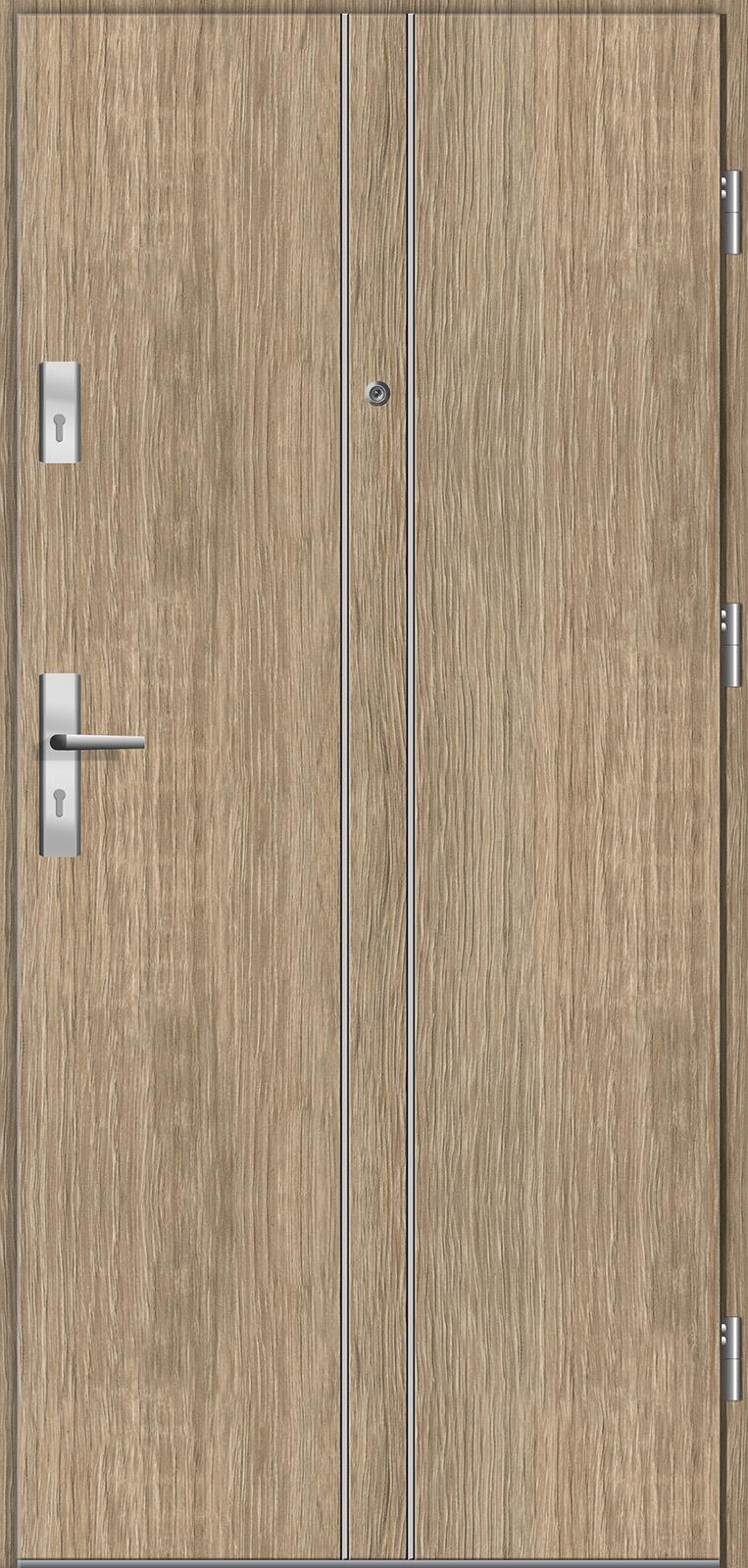 Drzwi wewnętrzne do mieszkań Otium 6 dąb
