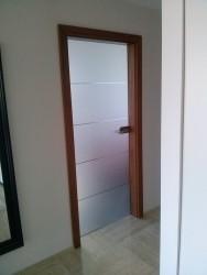 Drzwi szklane ze szkłem ze szlifami | Wrocław