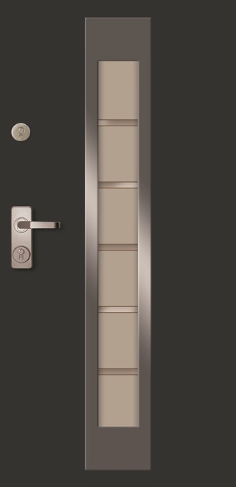 Drzwi wejściowe wzór Mid-Nx | Wrocław
