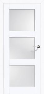 Drzwi białe Belvedere-3 Satinato