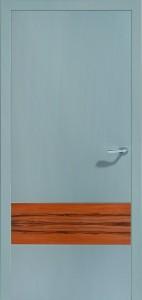Drzwi intarsje forniru Duplex-2-NCS Platingrau jabłoń indyjska