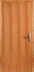 Drzwi fornirowane Euroba - modrzew syberyjski