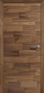 Drzwi fornirowane Forte - orzech amerykański