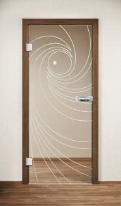 Drzwi szklane GT Twist