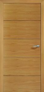 Drzwi fornirowane Linus-4-dąb