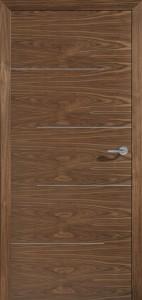 Drzwi fornirowane Modus-312 orzech am. Niro