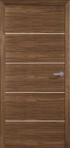 Drzwi fornirowane Modus-4-orzech am. biały
