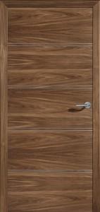 Drzwi fornirowane Modus-4D-orzech amerykański