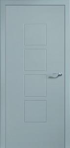 Drzwi lakierowane Motiv-M4-NCS Platin