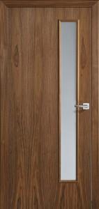 Drzwi fornirowane Euroba z przeszkleniem Design C