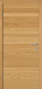 Drzwi fornirowane SAX Q dąb