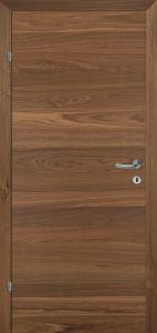 Drzwi fornirowane SAX Q orzech amerykański