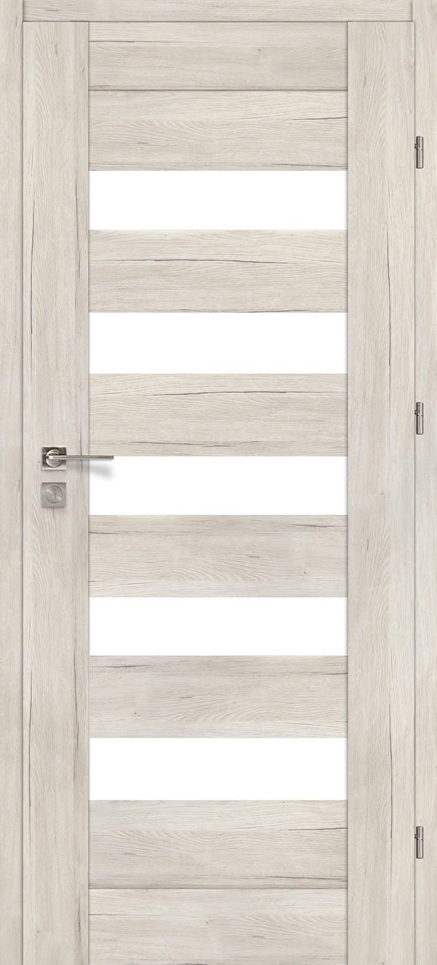 Drzwi z przeszkleniem Bergamo 10 dąb Montana | Wrocław