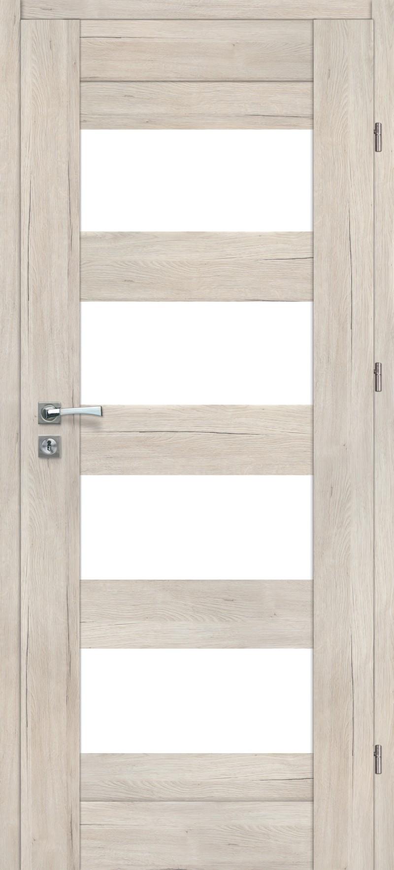 Drzwi z przeszkleniem Ibiza 0_4 dąb Montana | Wrocław