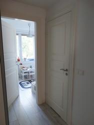 Drzwi Swedoor Compact 03 opaska 100 profilowana aranżacja
