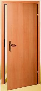 Drzwi biurowe fornir