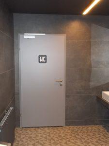 Drzwi HPL 2 mm WC