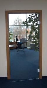 Drzwi szklane KLAR